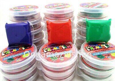Colour Changing Bouncing Putty Heat Sensitive Slime Colourful Party Bag Fillers