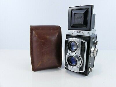 Welta Weltaflex 6X6 120 Film Medium Format Tlr Camera Meritar Lens