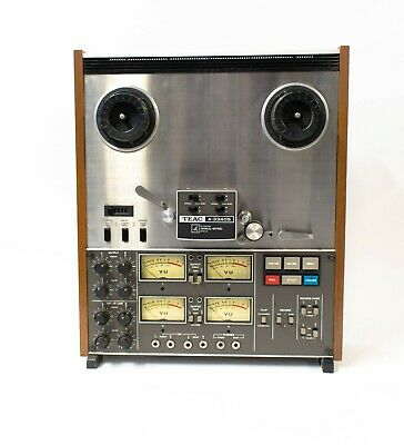 """TEAC A-3340S 4 Channel Simul-Sync Stereo 1/4"""" Tape Deck"""