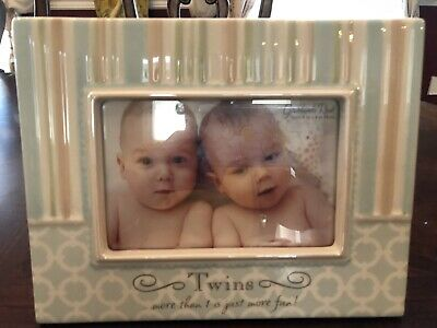 More Then 1 Is Just Not Fun! - 4 x 6 Photo Frame for Twins By Grasslands