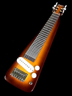 New Custom Hand Made Western Swing 6 String Electric White Lap Steel Guitar