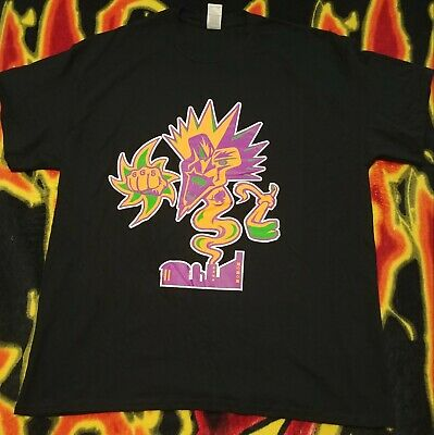 Insane Clown Posse ICP Fearless Fred Fury FFF Mardi Gras Shirt New Size Large