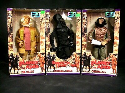 Planet of the Apes Beneath the Planet Figures Cornelius Dr. Zaius General Ursus