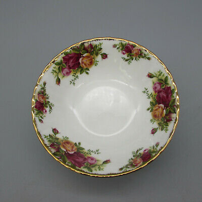 SET OF FOUR - Royal Albert Bone China OLD COUNTRY ROSES Cereal Bowls
