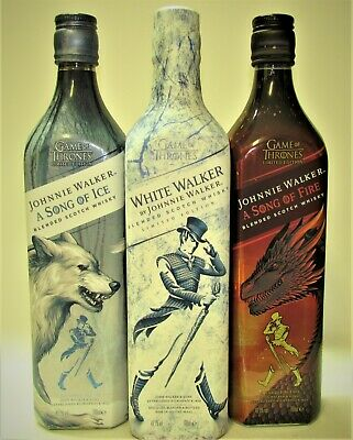 1+1+1 J.WALKER ♦ A SONG OF ICE&A SONG OF FIRE&WHITE WALKER, 70cl- Game of Thones