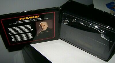 Master Replicas Darth Tyranus Star Wars LIGHTSABER .45 scale SW-3320 EP. III