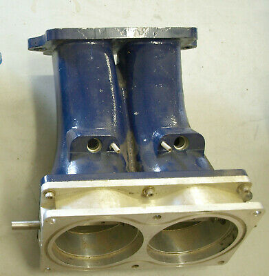 BBC EFI 18 Degree Big Chief Throttle Body and Runner