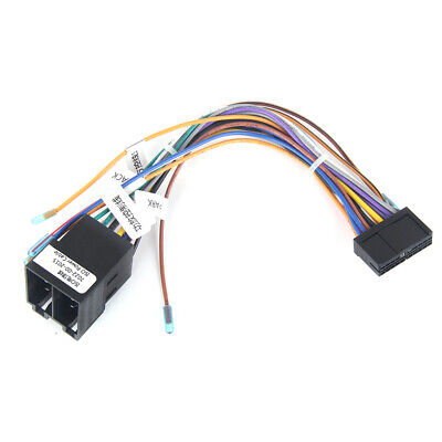 Car Radio ISO Wiring Harness Connector Adaptor Power Cable GPS Stereo Navigation