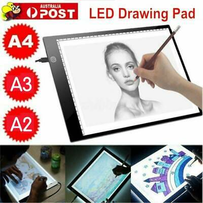 A2/A3/A4 LED Light Box Tracing Drawing Board Art Design Pad Copy Lightbox cB