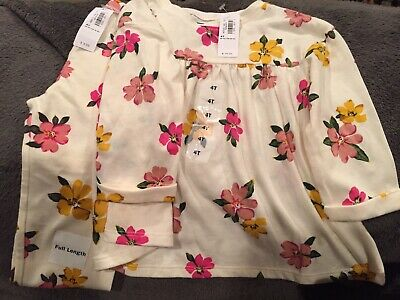 Old Navy Toddler 4t Floral Top With Leggings