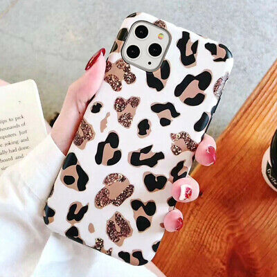 For iPhone 11 Pro Max XR 8 7 X Fashion Leopard Print Shockproof Phone Case Cover
