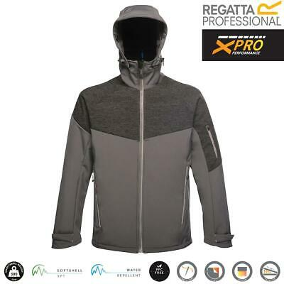 Mens Regatta X-Pro Reflective 3 Layer Dropzone II Soft Shell Jacket - TRA601