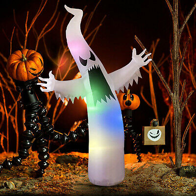 6 FT HALLOWEEN INFLATABLE GHOST Airblown Lighted Outdoor Yard Prop Decoration