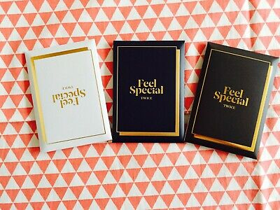 Twice Feel Special 8th mini album pre order photocard set only