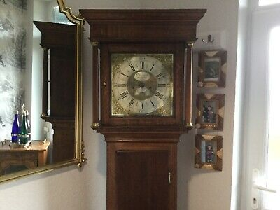 George lll eight day grandfather clock by William porthoufe Penrith,
