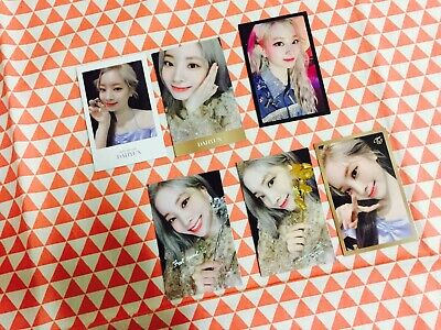 Twice Feel Special 8th mini album Random photocard Dahyun only