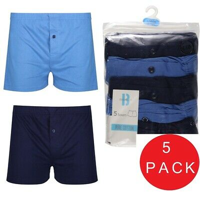 BHS 5 x Pairs Boys Hipster Trunks Boxers Shorts Brief 100% Cotton Age 5-16 Years
