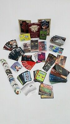 Job Lot Trading Cards Collectables Star Wars Mini Memo Tazos Bookmarks Vintage