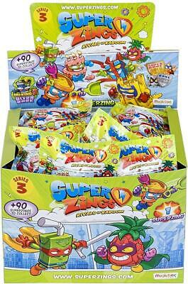 SuperZings Series 3: Rivals of Kaboom, 50 Figure Pack, Multicoloured