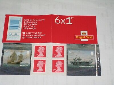 2019 PM69 Cylinder Booklet Royal Navy Ships MCIL and M19L & PB-Ls Security Paper