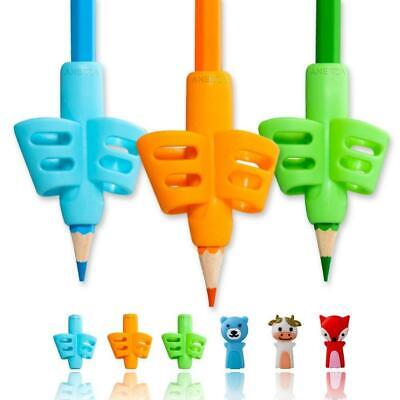 Pencil Grips,ANERZA Grips for Children Handwriting,Writing Aid Grip...