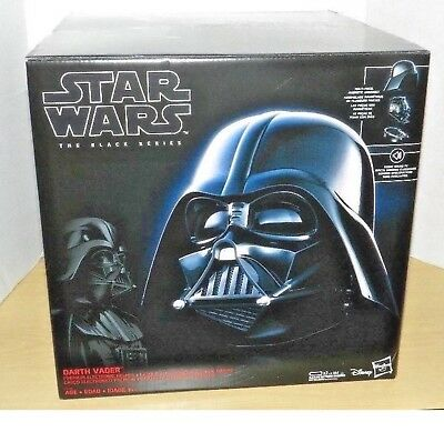 Star Wars Black Series Darth Vader Electronic Helmet New Sealed Gem In Hand Tbs