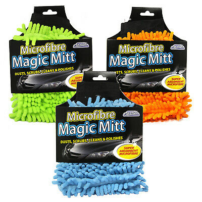 Microfibre Magic Mitt : Car Care & Car Cleaning Products : Car Clean Accessories