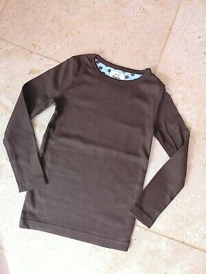 New Boden Brown Everyday Top Age 3-4 *label Sniped*