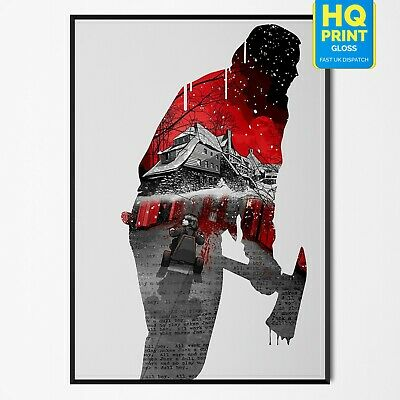 The Shining Classic Movie Large Poster Art Print Gift A0 A1 A2 A3 A4 Maxi