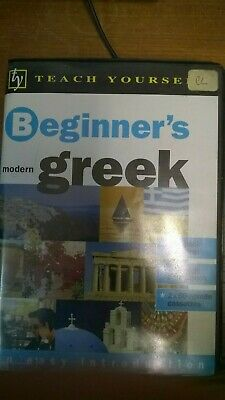 Teach yourself beginners modern GREEK. Cassette. Language Learning Pack / Course