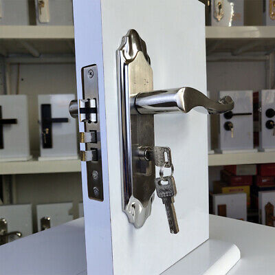1 pcs Lock Convenient Practical Indoor Handle Lock for Home Hotel Inn Restaurant