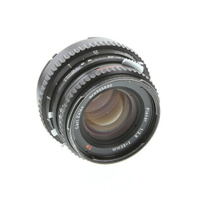 Hasselblad 80mm F/2.8 C T* Black Lens For Hasselblad 500 Series (V System)