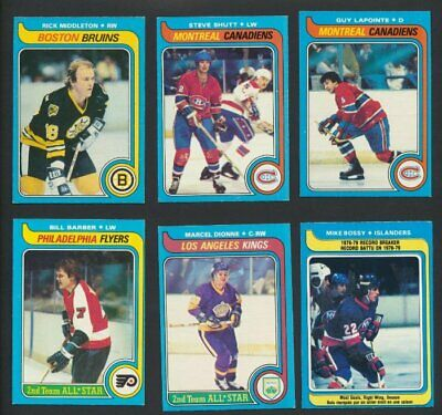 1979-80 OPC Hockey Lot of 251 Cards  O-Pee-Chee Great Condition  Dionne Bossy