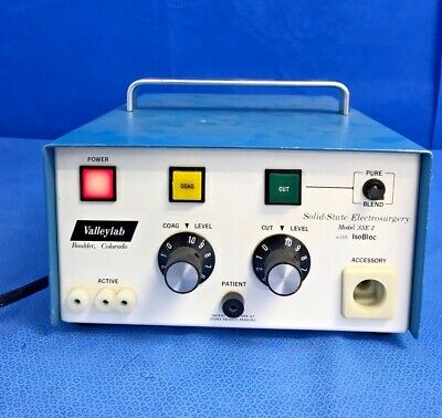 Valleylab SSE2 w/ Iso Bloc Solid State Electrosurgery Unit ESU