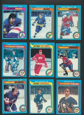 1979-80 OPC Hockey Lot of 167 Cards  O-Pee-Chee Great Condition  Sutter Lapointe