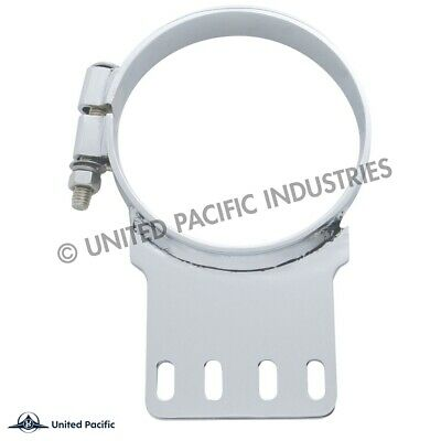 """Outlaw Customs 5"""" Kenworth Chrome Upper Exhaust Clamp 10288"""