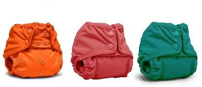 Rumparooz One Size Cloth Diaper Cover Snap 3 Pack Free S/H