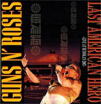 Guns N' Roses Last American Hero Live At Budokan 2007 Cd King Stork Records