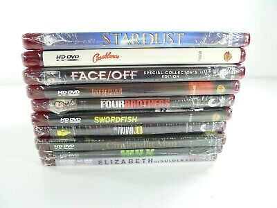 Lot of 10 HD DVD Movies Action Comedy Crime Classic SciFi Thriller New Sealed