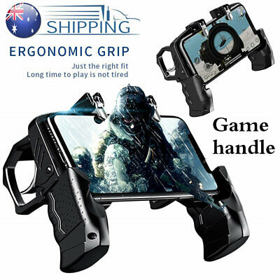 PUBG Mobile Phone Shooter Controller Game Trigger Gamepad Fire Button Handle AU