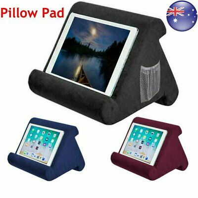 For iPad Foldable Laptop Tablet Pillow PC Holder Rest Reading Cushion Pad 2019 R