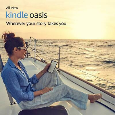 """Kindle Oasis E-Reader (Previous Generation - 9Th) – Champagne Gold, 7"""" High-Re"""