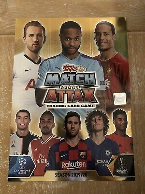 Match Attax 2019/20 COMPLETE 331 Card set PLUS 5 Gold LEs and Extras in photos