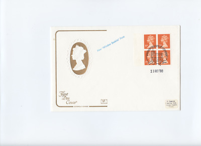 11th October 1988 76p 4 x 19p Windsor Postmark Cotswold First Day Cover FDC
