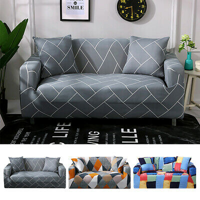 2/3 Seater Elastic Stretch Sofa Covers Slipcover Settee Couch Protector BIG SALE