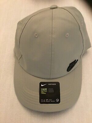 NIKE BASEBALL CAP with Logo Men's Caps 942212 100 OS WHTBK