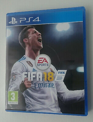 FIFA 18 PS4 Playstation 4 - In Excellent Condition