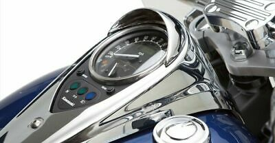 National Cycle Chrome Speedometer Cowl for VN900B Vulcan Classic and VN900C Vulcan Classic N7810