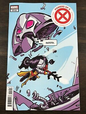Marvel Comics Powers Of X #1 Young Variant 2019 1st Print