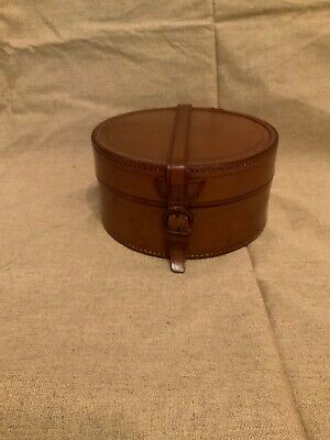 Vintage Leather Collar Case (collars Included)